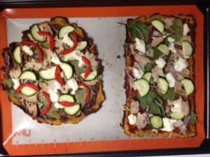 Pizza with Spaghetti Squash Crust