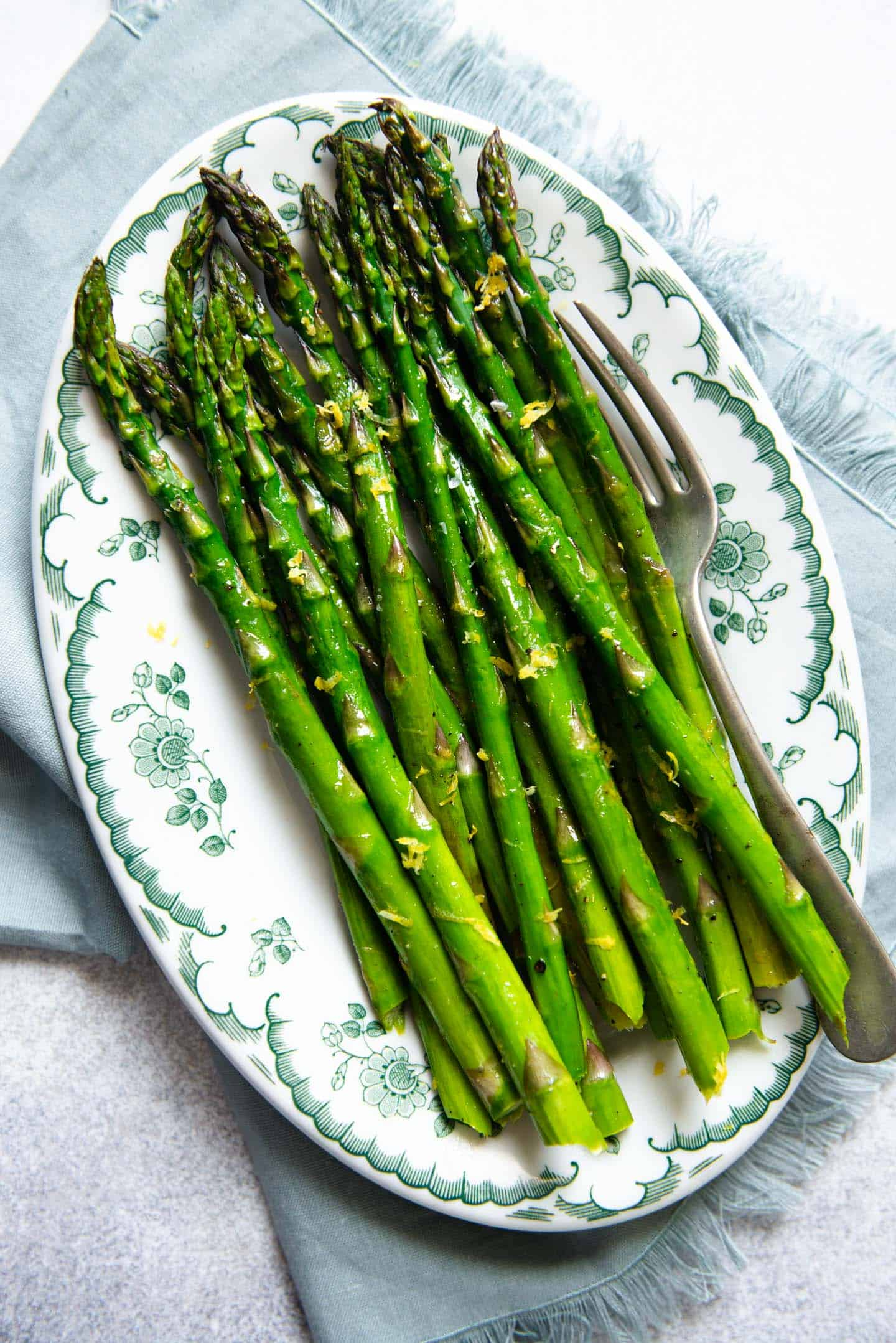 How To Roast Asparagus 5 Ingredients Healthy Nibbles