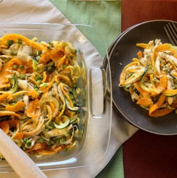 Butternut Squash Series, Part 4: Healthy Chicken Tetrazzini
