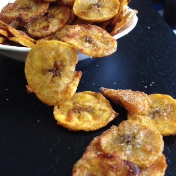 Snack Nibbles with Plantain Chips