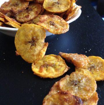 Garlic & Spice Plantain Chips