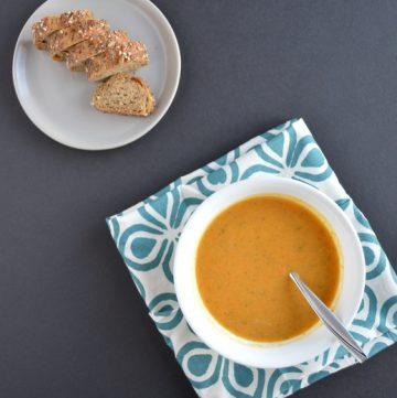Carrot Sweet Potato Immunity Soup