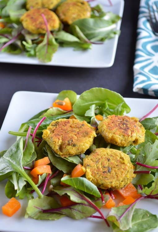 Curry Basil Falafel   Healthy Nibbles and Bits