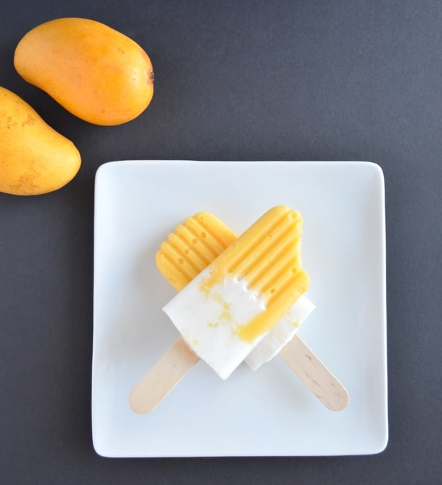 Tropical Ice Pops | Healthy Nibbles and Bits
