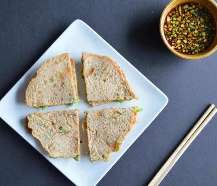 Whole Wheat Scallion Cakes | Healthy Nibbles and Bits