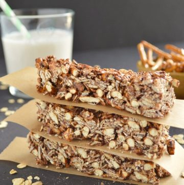 Five-Ingredient Fridays: Sweet and Salty Granola Bars