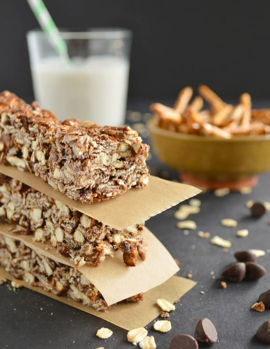 Sweet and Salty Granola Bars