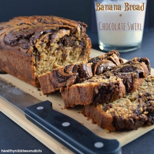 gluten free banana bread with chocolate