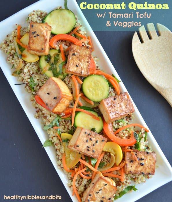 Tofu And Summer Vegetables In Coconut Milk Recipes — Dishmaps