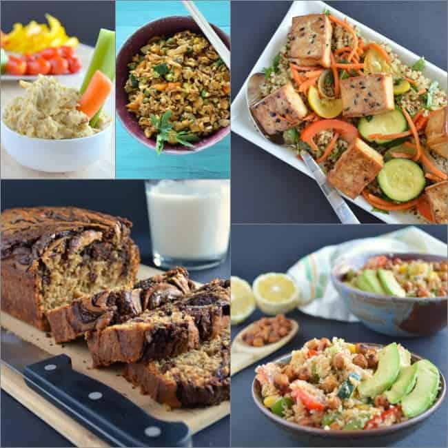 Gluten Free Week Meals