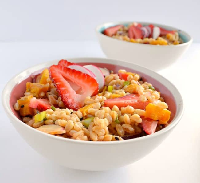 Spring Farro Salad   Healthy Nibbles and Bits