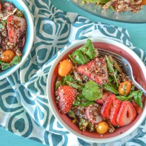 Chicken Quinoa Salad | Healthy Nibbles and Bits