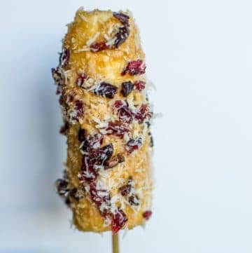 Banana Peanut Butter Pops | Healthy Nibbles and Bits