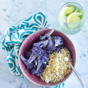 Cauliflower Millet Bowl | Healthy Nibbles and Bits