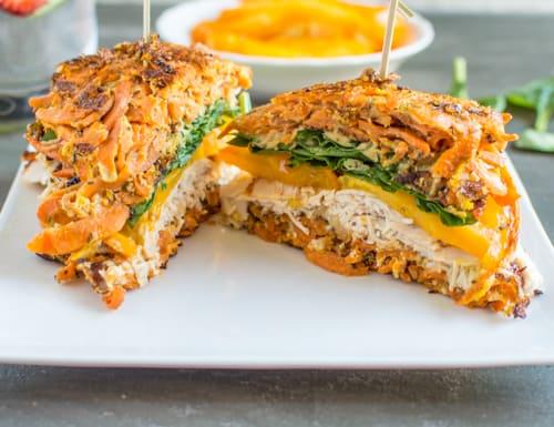 Sweet Potato Turkey Sandwich   Healthy Nibbles and Bits
