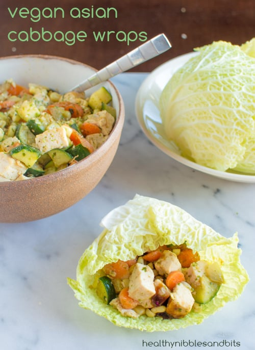 Vegan asian cabbage wraps healthy nibbles bits vegan asian cabbage wraps healthy nibbles and bits forumfinder Image collections