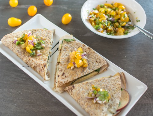 5-Minute Chicken Quesadilla