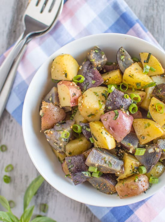 Vegan Asian Potato Salad
