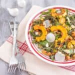 Miso Curry Kale & Delicata Salad   Healthy Nibbles and Bits