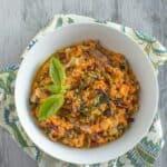 Sweet Potato Kohlrabi Risotto