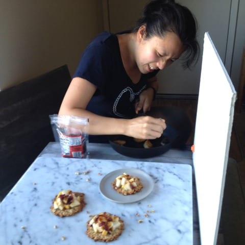 Cooking Pear Cookie Crisp