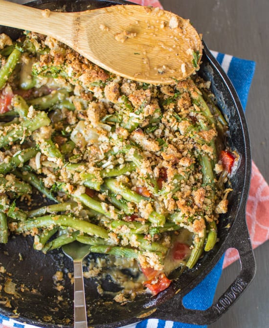 Vegan Green Bean Casserole Healthy Nibbles