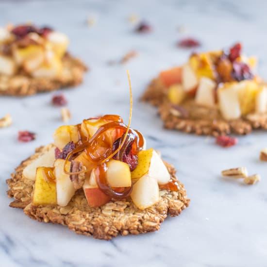 Pear Cookie Crisp | healthynibblesandbits.com
