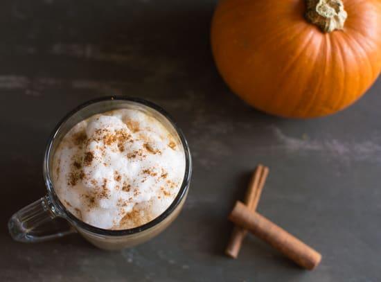 Pumpkin Spice Latte | healthynibblesandbits.com