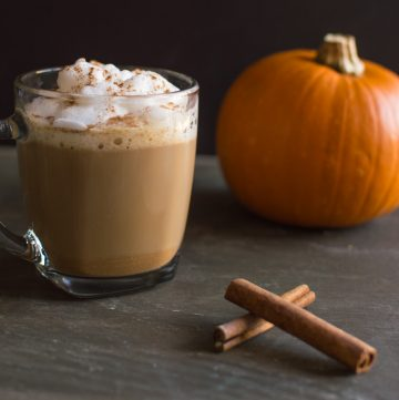 Five-Ingredient Fridays: Frugal Girl's Pumpkin Spice Latte