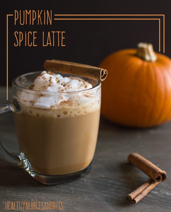 ... Fridays: Frugal Girl's Pumpkin Spice Latte | Healthy Nibbles & Bits