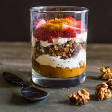 Five-Ingredient Fridays: Pumpkin Pie Yogurt Parfait