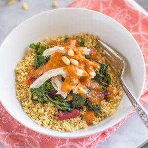 Roasted Red Pepper Millet Bowl FF