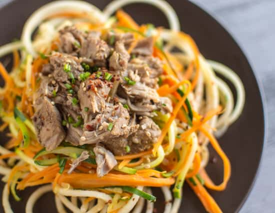 Asian Slow Cooker Pork With Zucchini Carrot  Apple -8813
