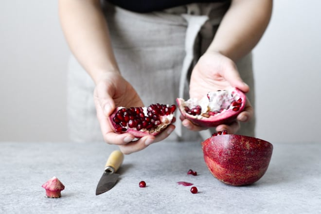 How to Make Pomegranate Molasses by @healthynibs
