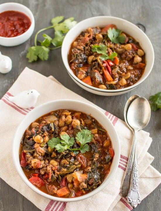 Moroccan Beef Chili | healthynibblesandbits.com