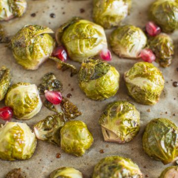 Five-Ingredient Fridays: Pomegranate Glazed Brussels Sprouts