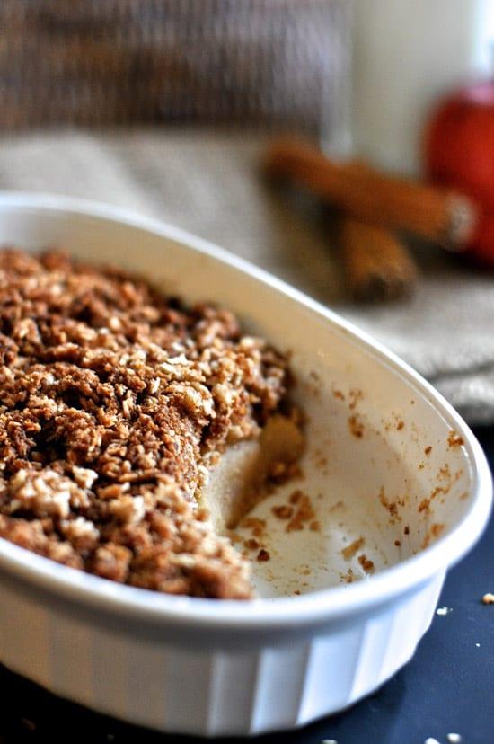 Spiced Apple & Star Anise Crisp