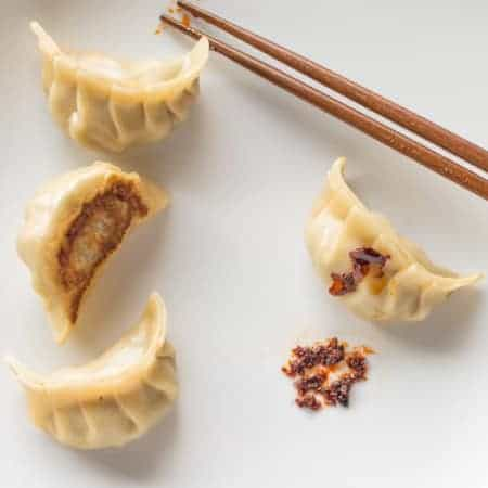 Spring Thyme and Pork Potstickers | healthynibb
