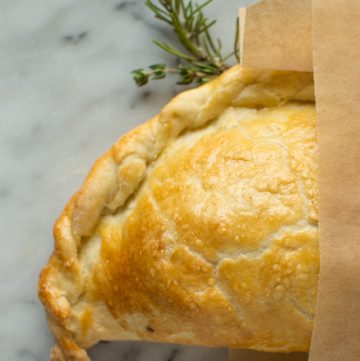 Chicken and Root Vegetable Pasties | healthynibblesandbits.com
