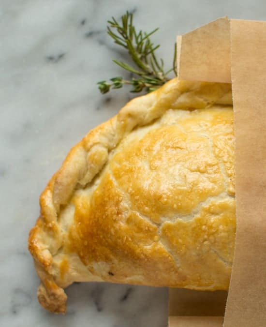 Recipe pasties chicken