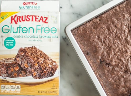 Krusteaz Gluten-Free Brownies