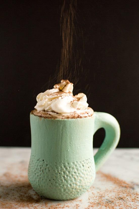 Coconut Kahlua Hot Chocolate recipe #vegan