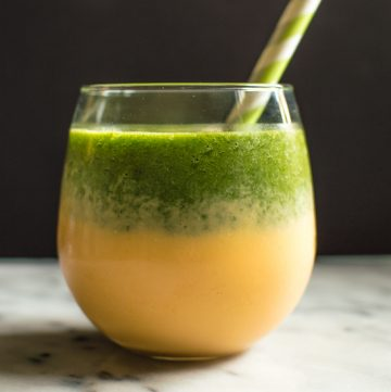 Kale, Peach and Clementine Smoothie