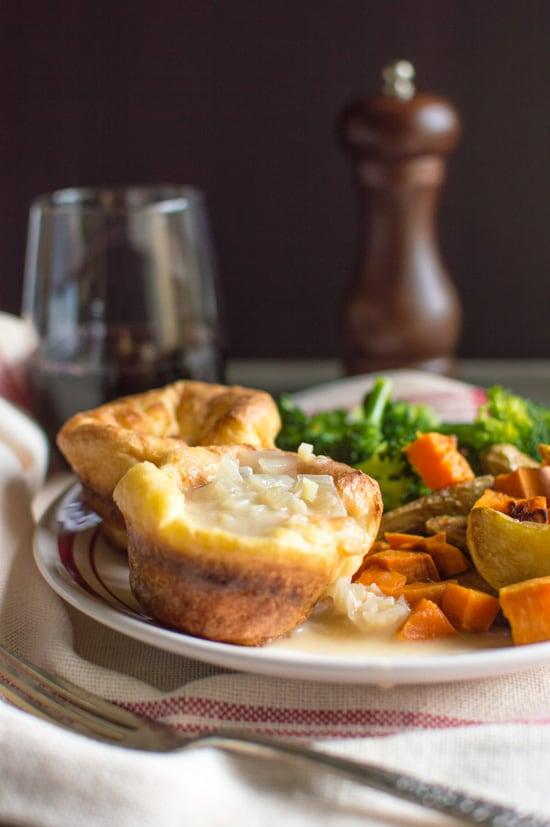 Mini Yorkshire Puddings | healthynibblesandbits.com