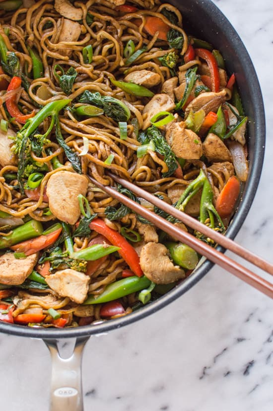 30 minute chicken chow mein healthy nibbles bits 30 minute chicken chow mein healthynibblesandbits forumfinder Image collections