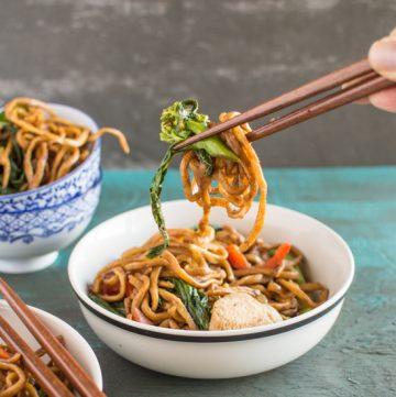 30-Minute Chicken Chow Mein