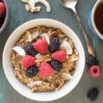 Chai Tea Oatmeal | healthynibblesandbits.com #vegan #glutenfree
