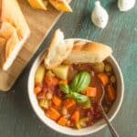 Chickpea Minestrone Soup FF