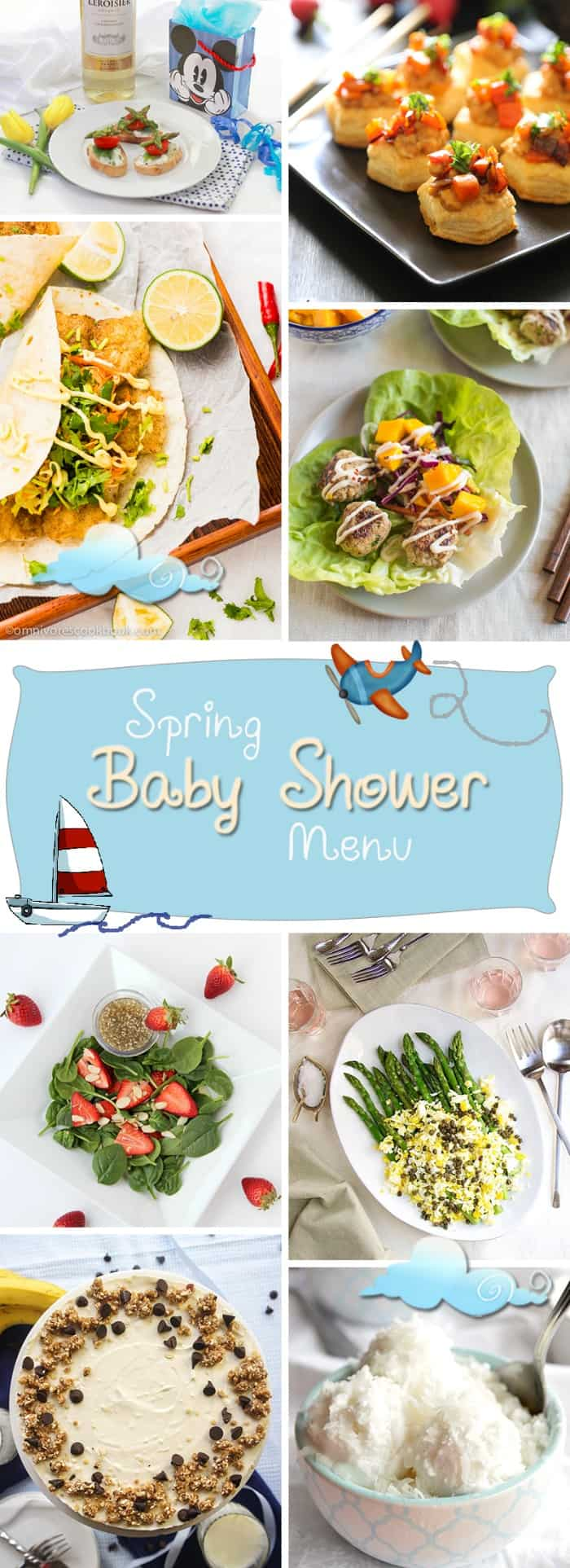 Healthy Baby Shower | healthynibblesandbits.com
