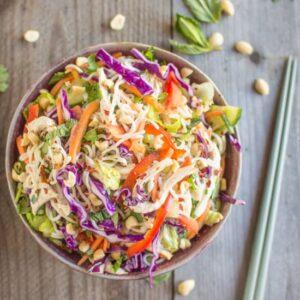 Vietnamese Tofu Shirataki Salad with Chicken